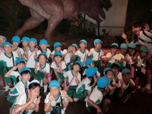 お泊り保育(恐竜)ふ3