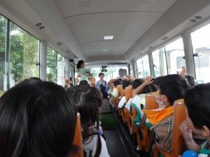 年中遠足バス