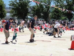 年少親子競技