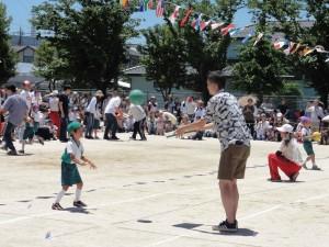 年長親子競技